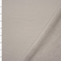 Light Grey Heavyweight French Terry Fabric By The Yard