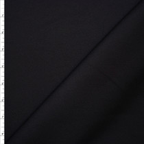 Black Twill Weave Heavyweight Designer Suiting Fabric By The Yard