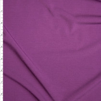 Plum Stretch Polyester Jersey Knit Fabric By The Yard