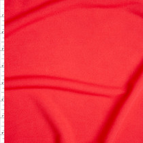 Red Midweight Ponte De Roma Fabric By The Yard