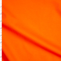Bright Orange Midweight Ponte De Roma Fabric By The Yard