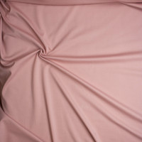 Blush Heavyweight Stretch Ponte De Roma Fabric By The Yard - Wide shot