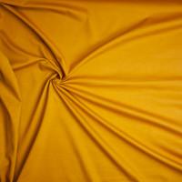 Mustard Heavyweight Stretch Ponte De Roma Fabric By The Yard - Wide shot