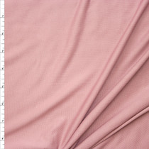 Dusty Rose Brushed Poly/Modal Jersey Knit Fabric By The Yard