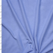 Sky Blue Brushed Poly/Modal Jersey Knit Fabric By The Yard