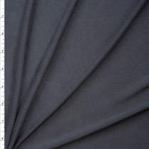 Charcoal Brushed Poly/Modal Jersey Knit Fabric By The Yard