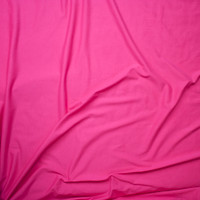 Hot Pink Light Midweight Stretch Cotton Jersey Knit Fabric By The Yard - Wide shot