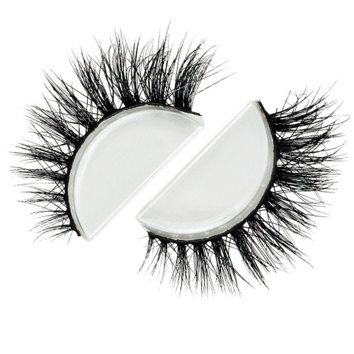 Strip Lash 3D Mink, Pre/Double-Stacked Beautiful Lashes Stack-able, and Reusable (Suggested use 20-25 wears