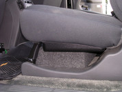 2001-2013 CHEVROLET AVALANCHE SINGLE SUBWOOFER ENCLOSURE