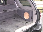 SINGLE SUB BOX FOR SIDE CARGO 2002-2009 CHEVROLET TRAILBLAZER / GMC ENVOY