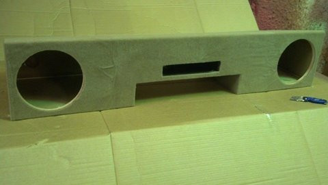 Ported Box 1999 2006 Chevy Silverado Extended Cab Sound Off Audio Inc