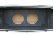 2005-2013 CHRYSLER 300, DODGE CHARGER and CHALLENGER Dual Sub Box