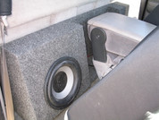 1997-2004 DAKOTA STANDARD DUAL SUB BOX