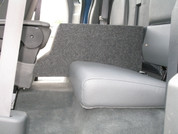 2005-2013 DODGE DAKOTA EXTENDED CAB CONSOLE SUB BOX