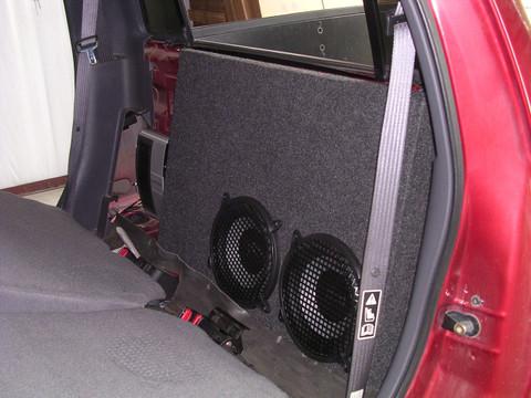 2001 2006 Ford Explorer Sport Trac Dual Sub Box Sound