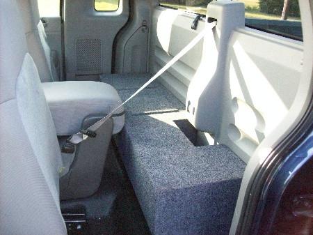 2005 ford f150 sub box