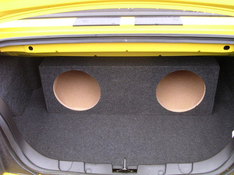 2005 2013 Ford Mustang Convertible Sub Box Sound Off