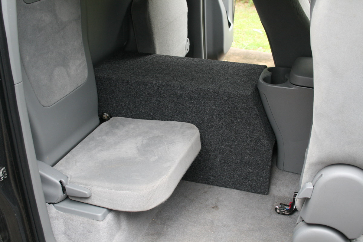 Tacoma Access Cab >> 2010-2015 TOYOTA TACOMA ACCESS / EXTENDED CAB SUB BOX - Sound Off Audio, Inc.