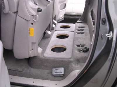 ... 2004 2006 TOYOTA TUNDRA CREW And DOUBLE CAB TRUCK Dual 8 Subwoofer  Baffle. Image 1