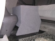 2004-2006 TOYOTA TUNDRA DOUBLE CAB SINGLE SUB CONSOLE BOX