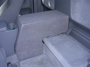2005-2009 TOYOTA TACOMA ACCESS CAB SINGLE SUB BOX- LARGE CONSOLE