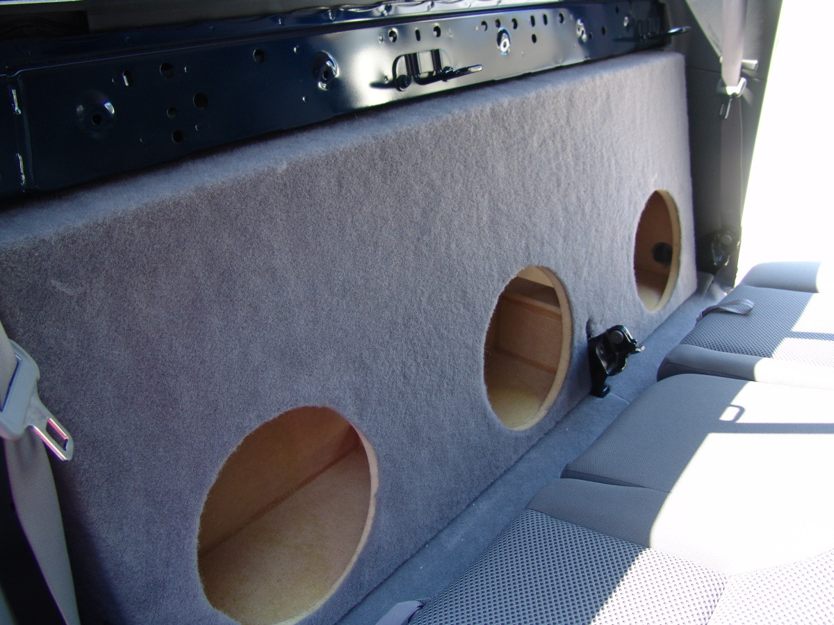 2005 2015 Toyota Tacoma Double Cab Triple Sub Box Sound