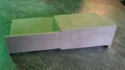 Single Sub Box w/AMP RACK 2007-2013 GM SIERRA CREW