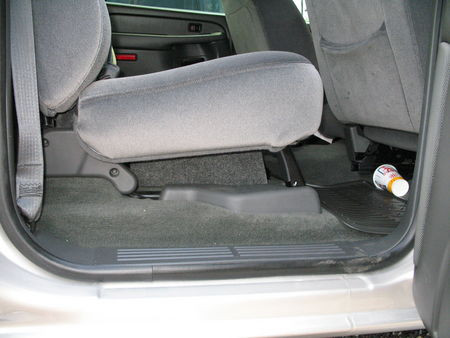 """Chevy Crew Cab 1500 Subwoofer Box Dual 10/"""" Behind Seat!"""