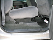 Single Sub Box 2003-2006 GM Sierra 1/2 ton Crew