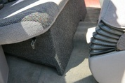 Dual Sub Box 1988-1998 GMC Sierra Extended Cab