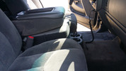 2003-2006 Chevy Silverado 1/2 Ton Console Sub Enclosure
