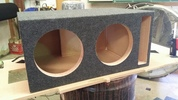 Ported Dual 10 inch Subwoofer Enclosure