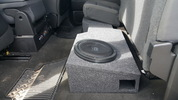 2014-18 Chevrolet Silverado Crew Cab Dual 10 Ported speaker box