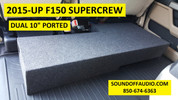2015-18 F150 SUPERCREW  BASS PACKAGE