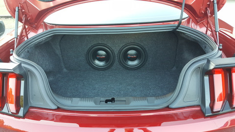 2015-2018 Ford Mustang Subwoofer Box