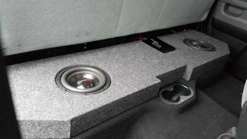 2002-2018 Dodge Crew/Quad speaker box