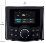VX306 IP56 Marine Stereo POLARIS RANGER / UTV
