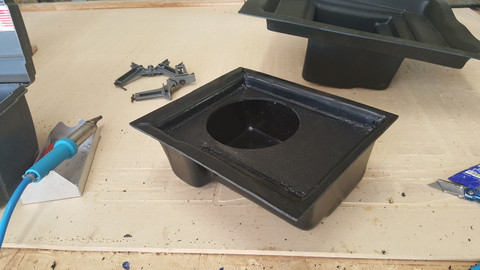 NEW 2018-UP POLARIS RANGER SUBWOOFER BOX FOR CREW OR STANDARD CAB