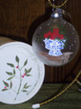 Handpainted Ornament - Roses in Vase