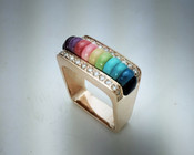 Rainbow Ring (R156dd)