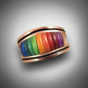 RB2 Sueded Rainbow Colors