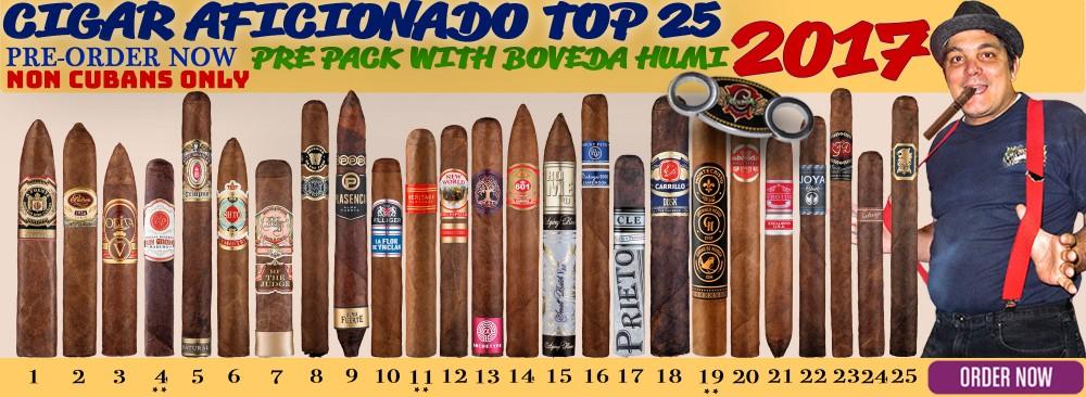 2017 Cigar Aficionado Top 25