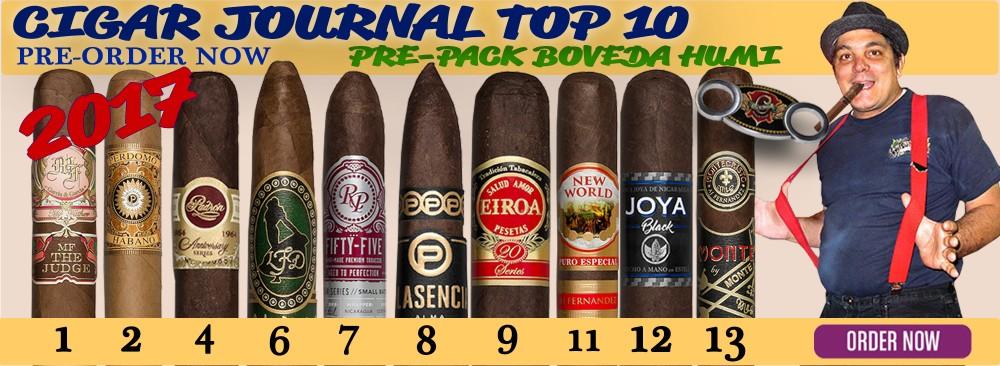 2017 Cigar Journal Top 10