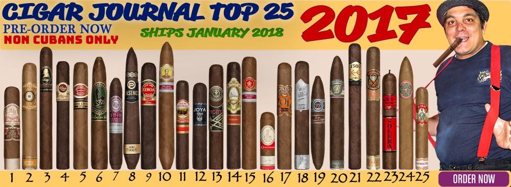 2017 Cigar Journal Top 25