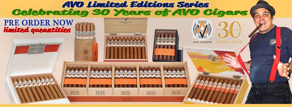 AVO 30th Years Limited Editions