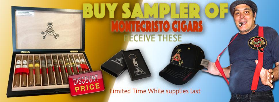 montecristo sampler