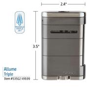 xikar-allume-triple-cigar-lighter