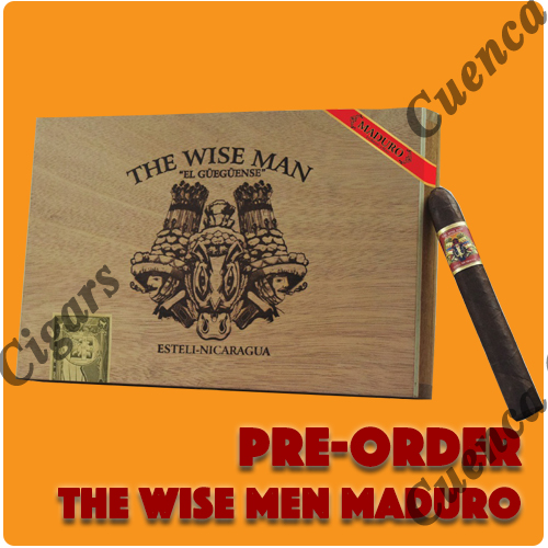 Pre order The Wise Men Maduro Cigars