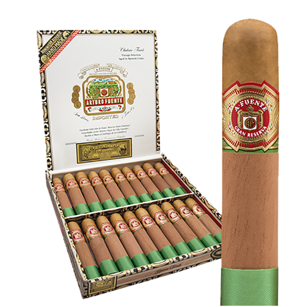 Arturo Fuente Chateau Fuente Cigars - Natural Box of 20