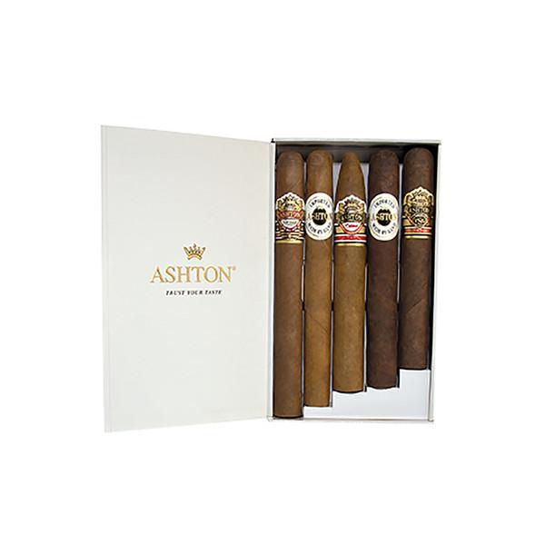 Ashton 5 Cigars Sampler Assortment - Cigar Sampler